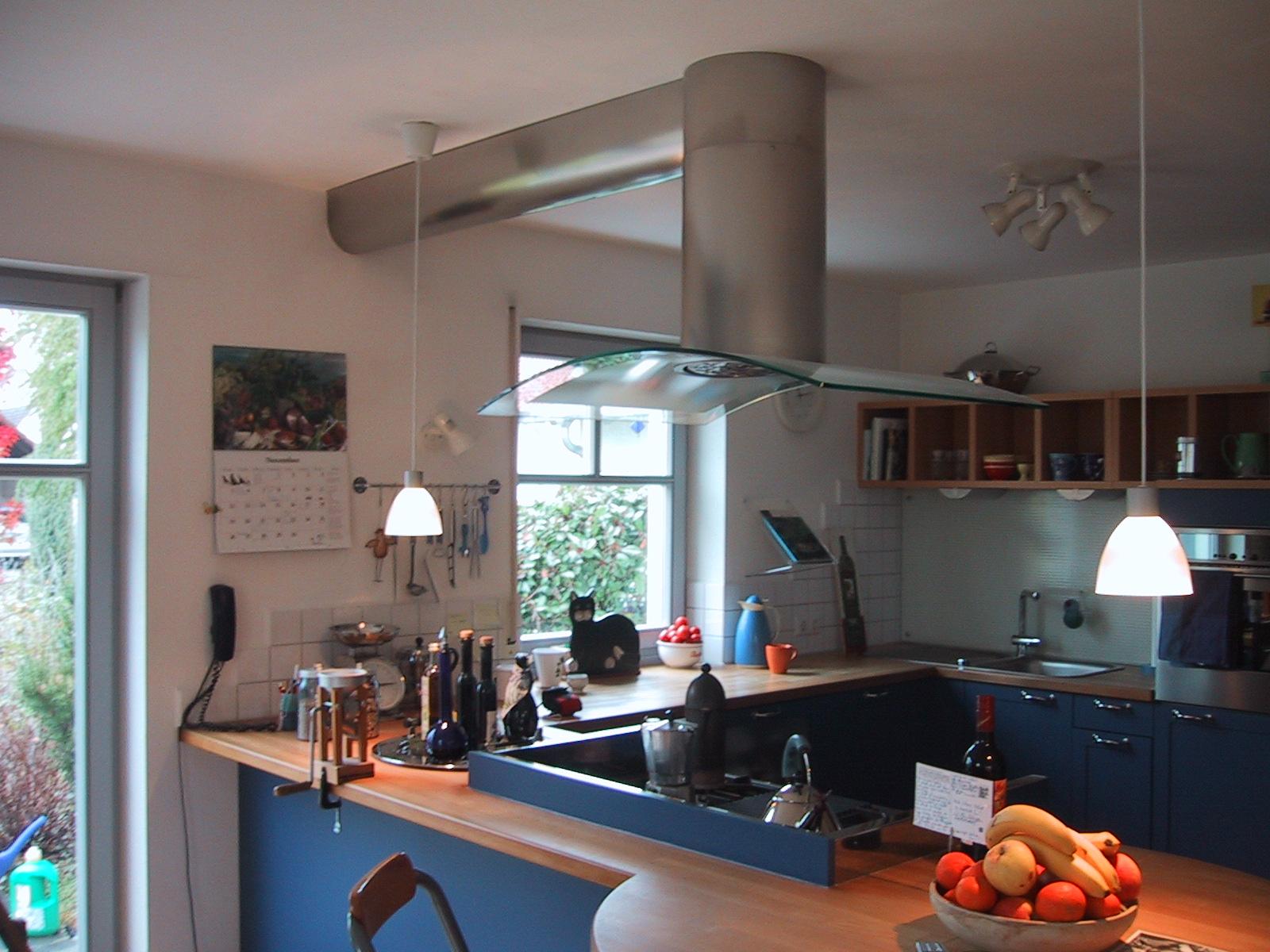 Ablufthauben Küche wohnhaus metzger raab innenarchitekten